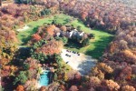 Veatch aerial pre church autumn