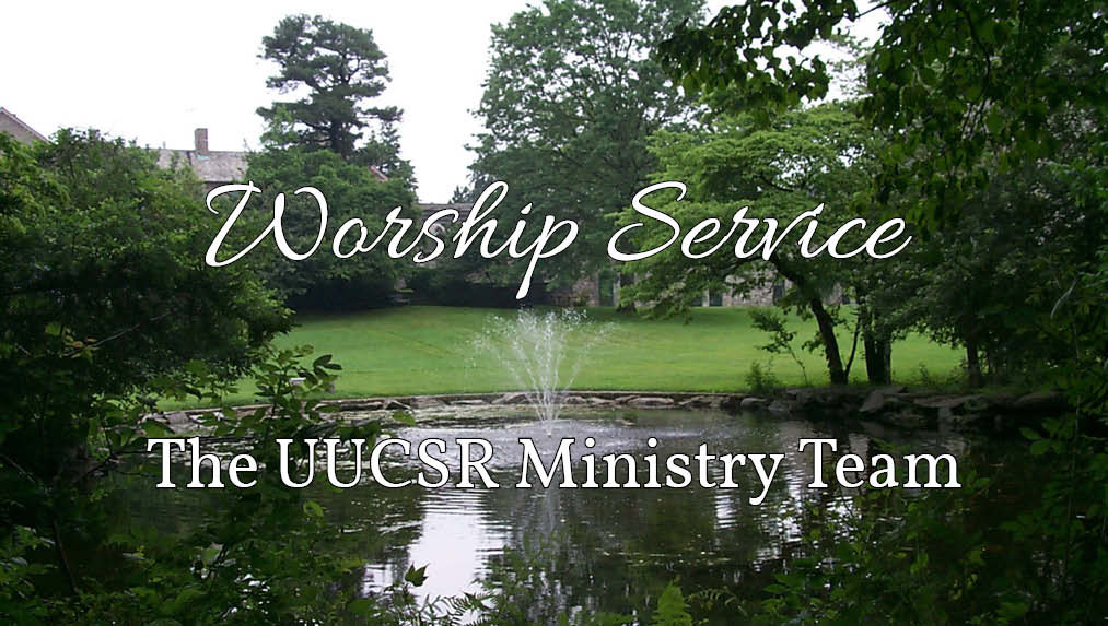 "Worship Service: ""5th Source: Humanist Teachings,"" The Rev. Ned Wight"