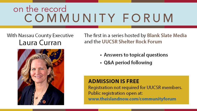 Community Forum with Nassau County Executive, Laura Curran
