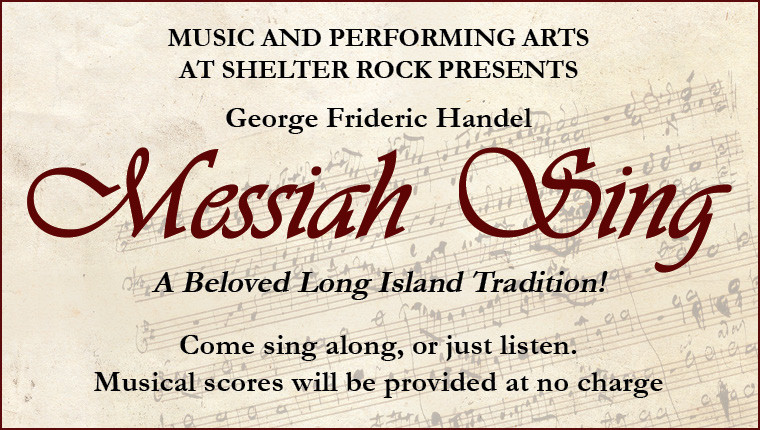 G.F. Handel's Messiah - A Holiday Community Sing