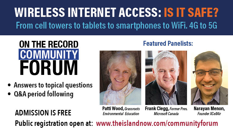 on the record Community Forum - Wireless Internet Access: Is It Safe?