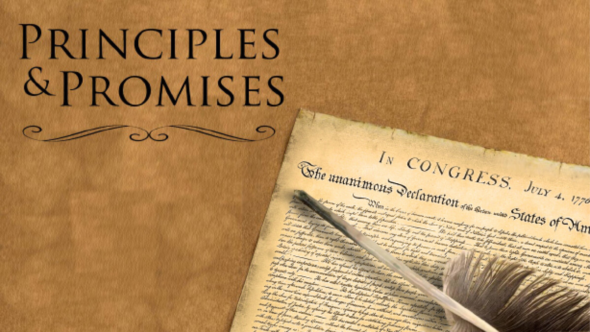 Online Worship Service: Principles and Promises